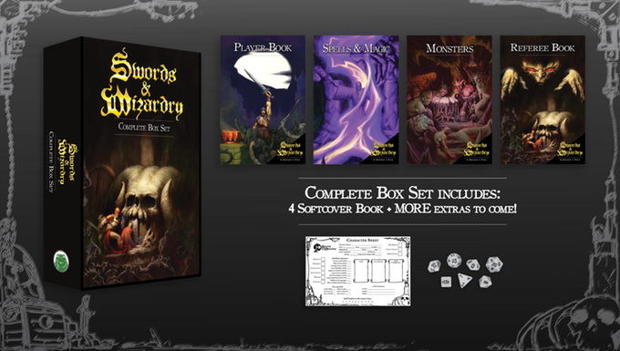 Swords and Wizardry Box Set Contents